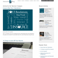 Insource Blog Archive Page