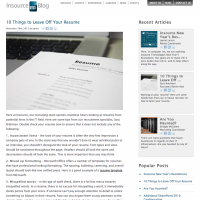 Insource Blog Single Article Page