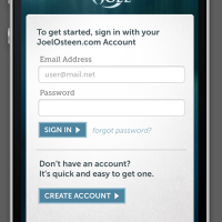 JOM iPhone App Login