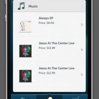 JOM iPhone App Music Store