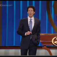 Joel Osteen Video Player Hidden Controls