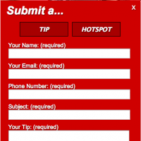 Submit a Tip / Hotspot jQuery Widget