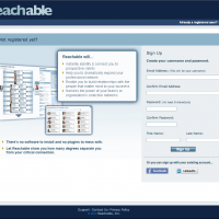 Reachable Login Page