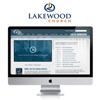 Lakewood Church Video Player